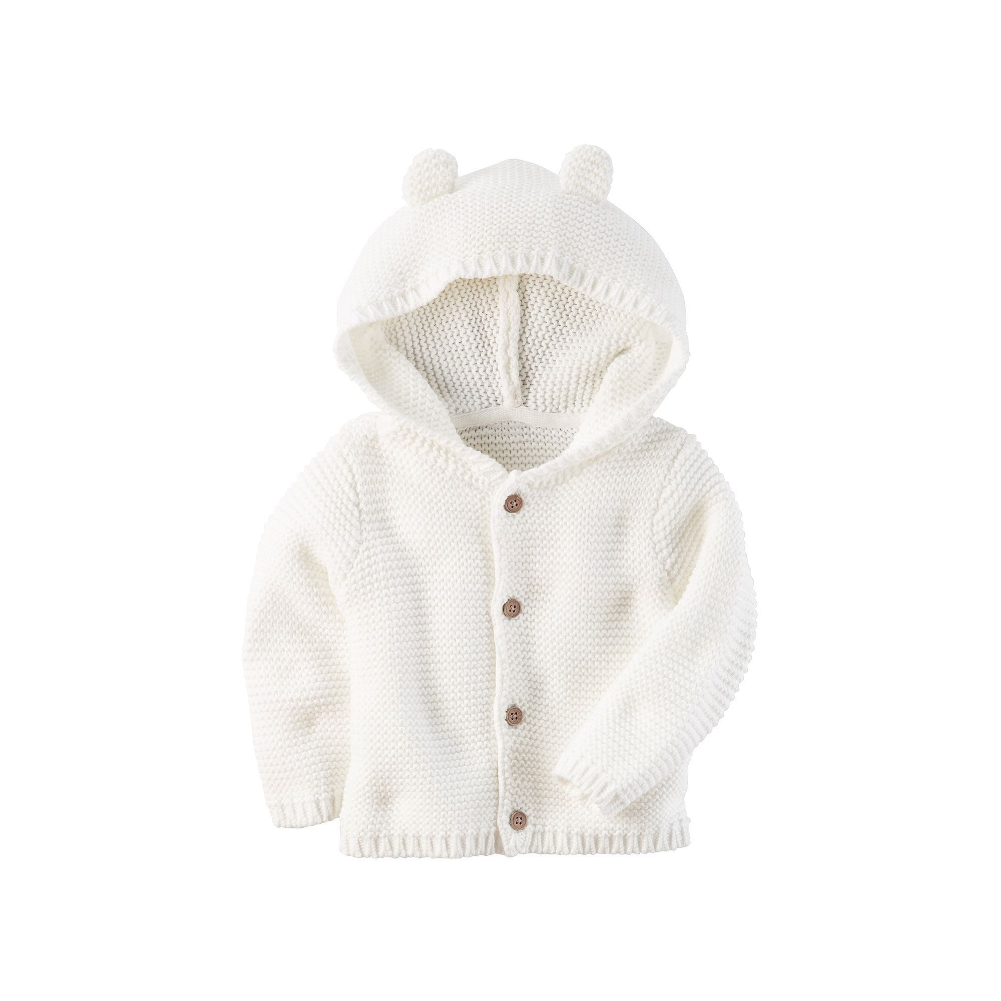 02d3fc83c Baby Carter s Hooded Textured Sweater