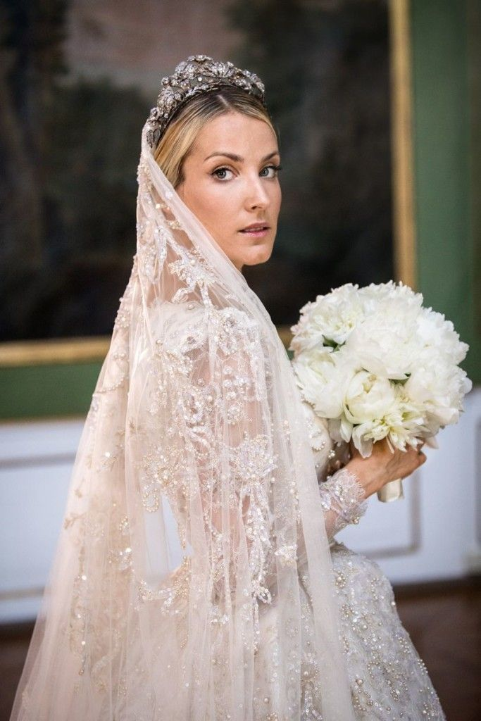 Official photos of the 3 gowns worn by Princess Ekaterina (Maylsheva) of Hannover during her wedding weekend. The bride is an aspiring fashion designer who's good friend Sandra Mansour designed all 3 dresses.