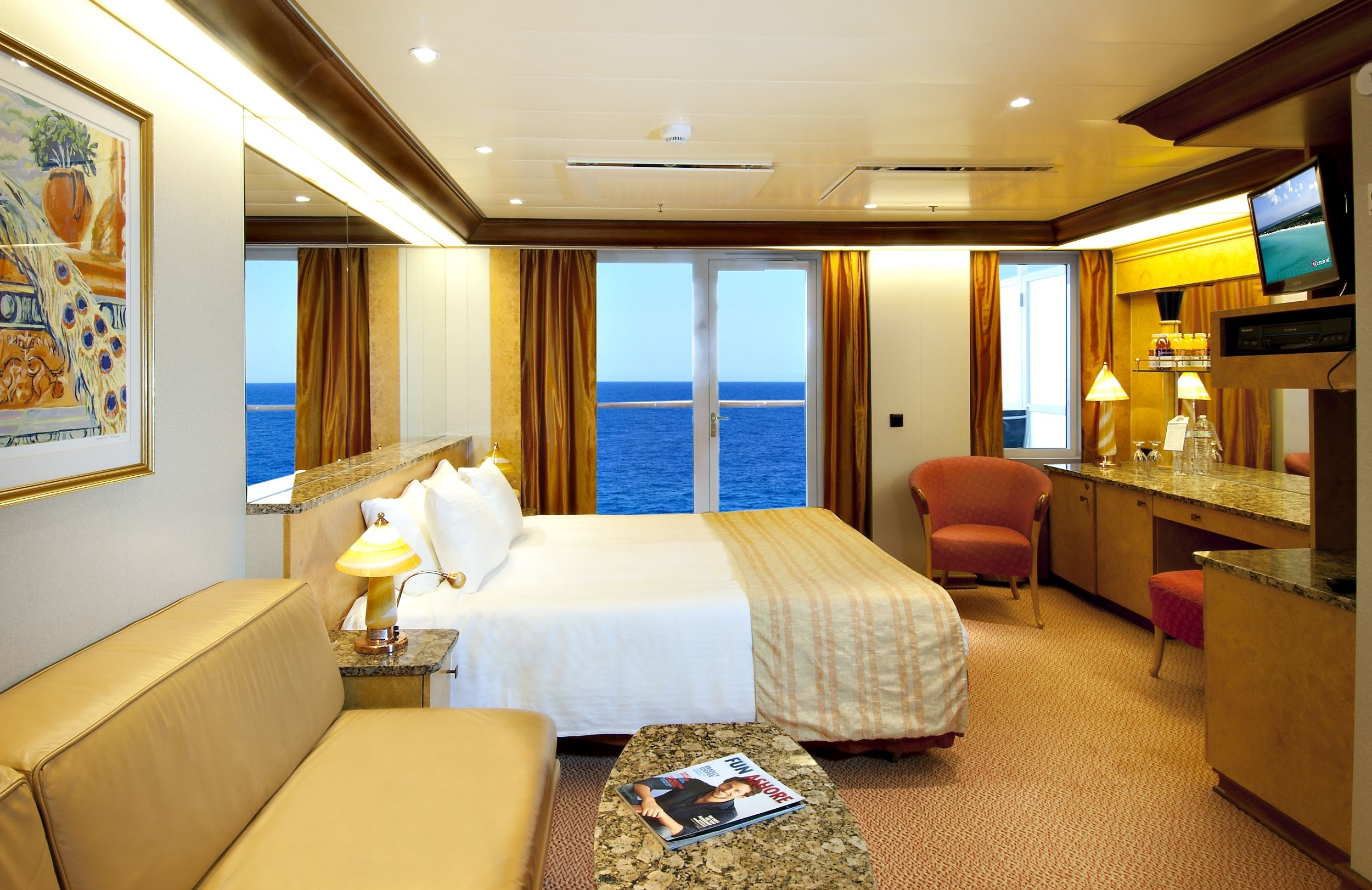 How To Pick The Right Cabin On A Cruise Ship Year - Carnival spirit cruise ship cabins