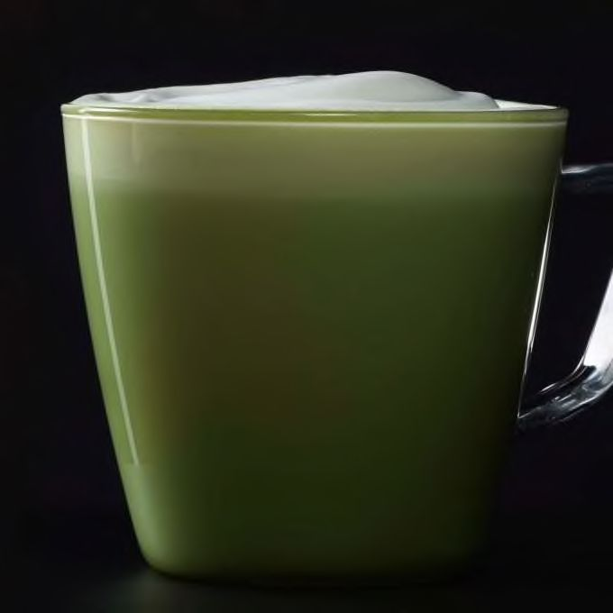 Check Out This Matcha Green Tea Latte From Starbucks