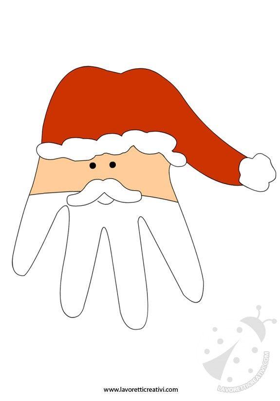Babbo Natale Lavoretti.Lavoretti Natale Babbo Natale Natale Christmas Christmas Diy