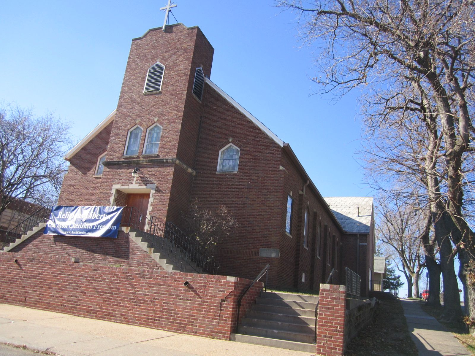 St Anthony Catholic Church In Omaha Nebraska House Styles Catholic Church Architecture