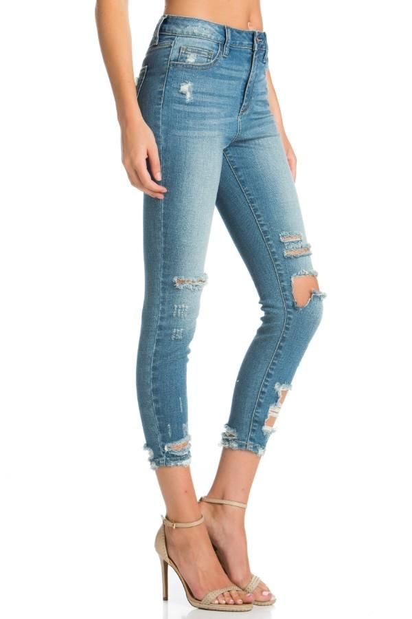 27fe8773cb69 Shorts · HIGH RISE ADELE JEANS