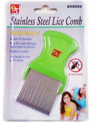 anoplura flea comb cheopis cootie stainless steel lice comb Cat Dog Grooming Steel Small New Green For adult children