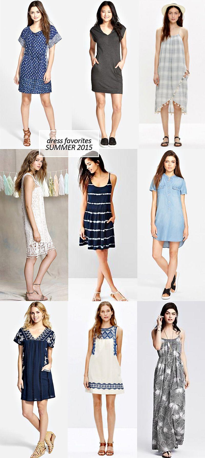 9 Summer Dress Favorites | PepperDesignBlog.com