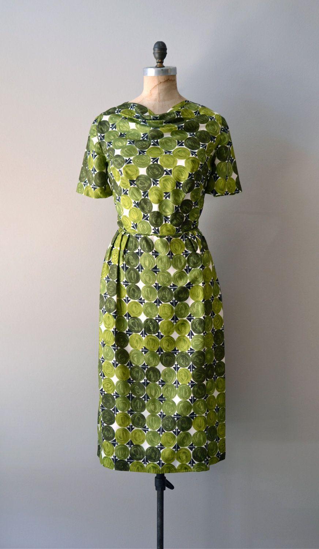 S dress silk s dress painted landscape dress via