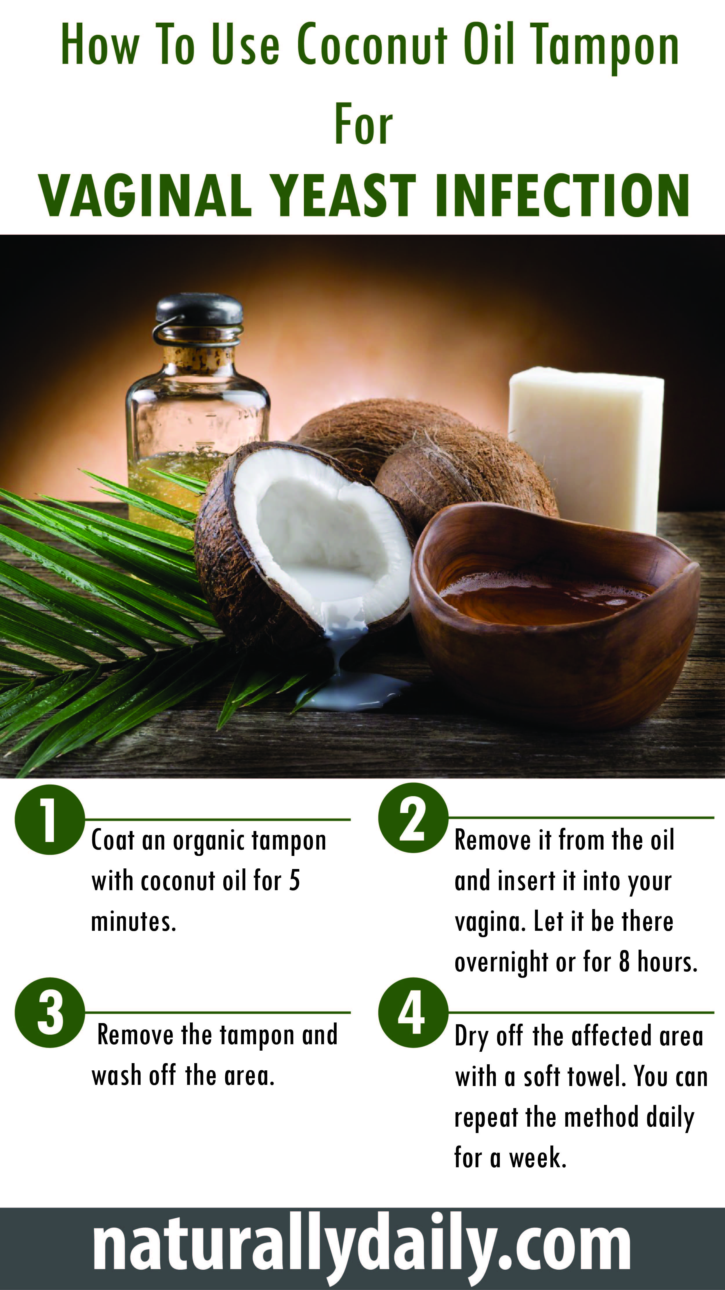 Coconut Oil And Yeast Infection