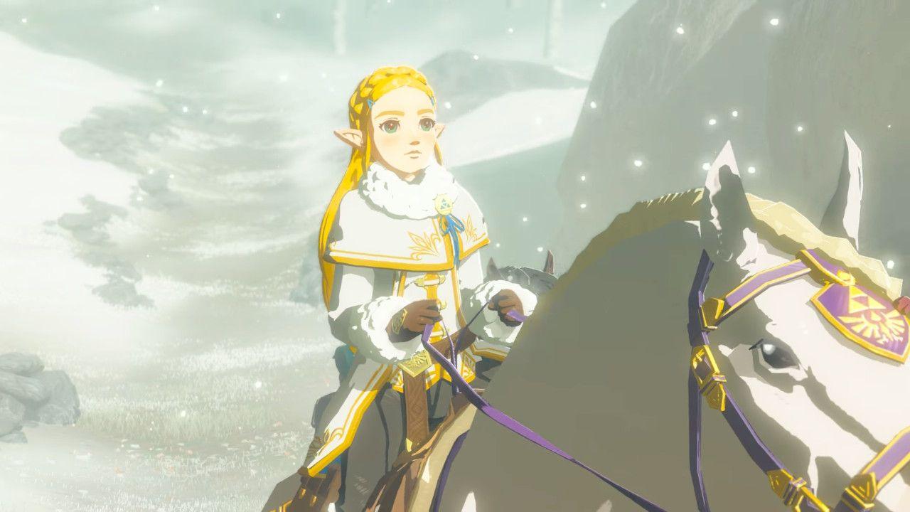Zelda Winter Outfit Breath Of The Wild Champion S Ballad Legend