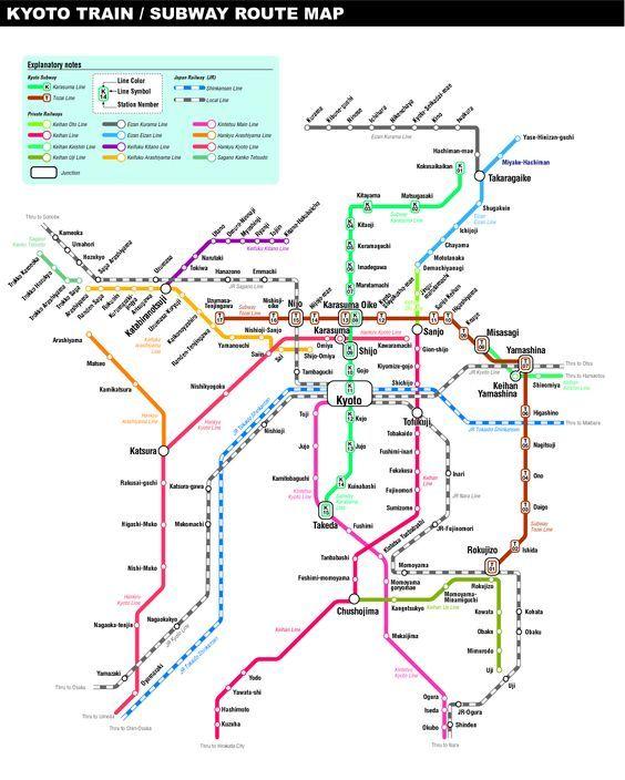 Subway Map Kyoto English.Kyoto Subway Map London Underground Tube Subway Posters