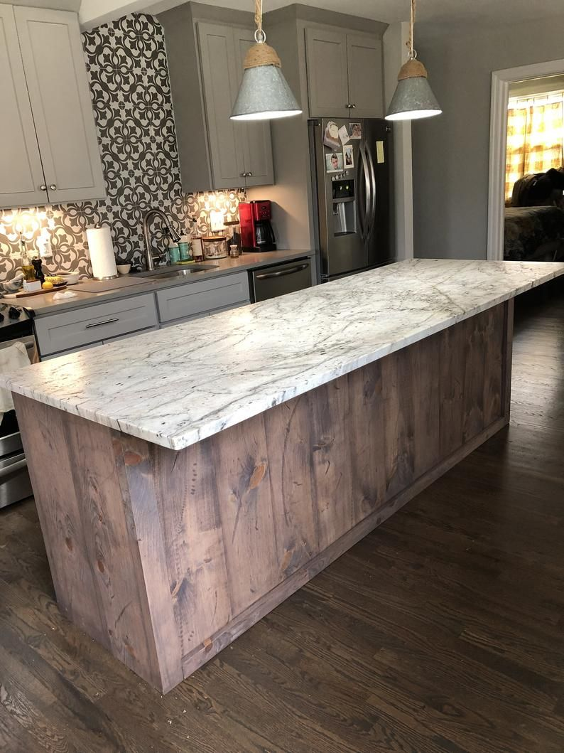Beautiful Kitchen Island In 2020 Custom Kitchen Island Beautiful Kitchens Home Decor Kitchen