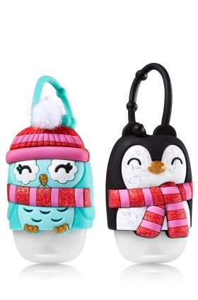 Bff Owl Penguin Pair Of Pocketbac Holders Bath Body Works