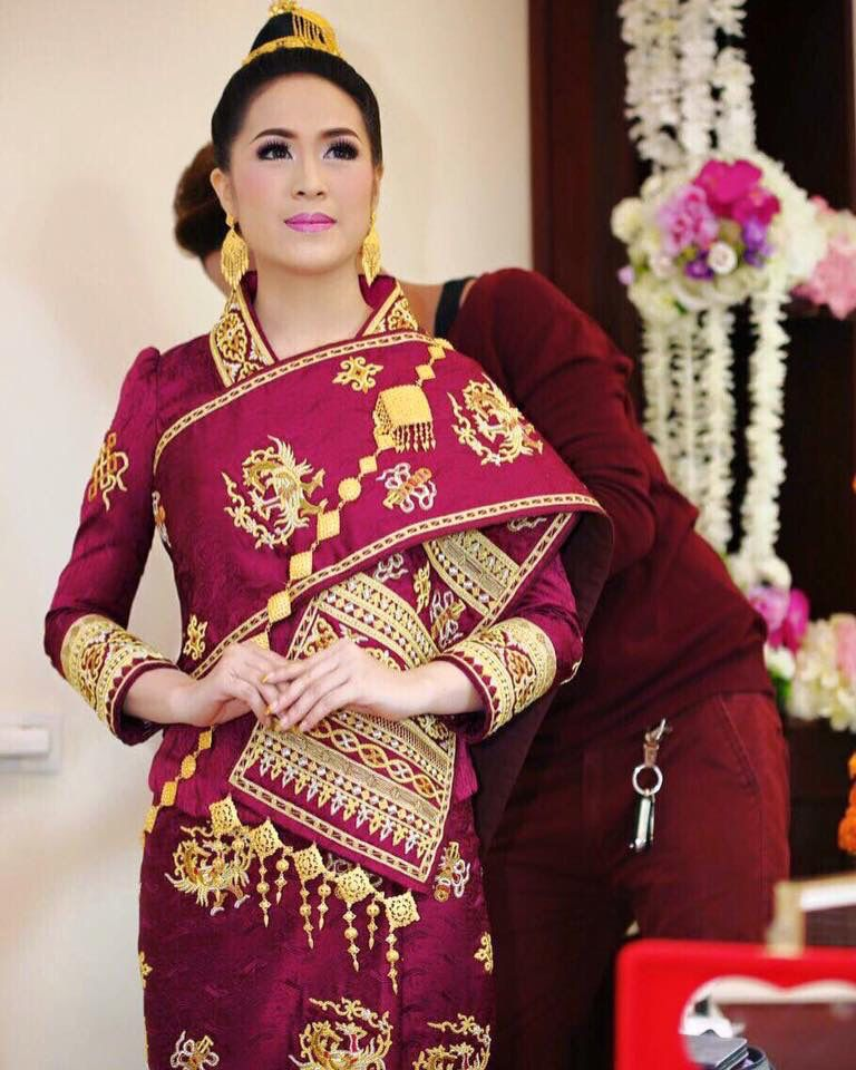 Very Pretty Dress Traditional Wedding Attire Dresses Laos