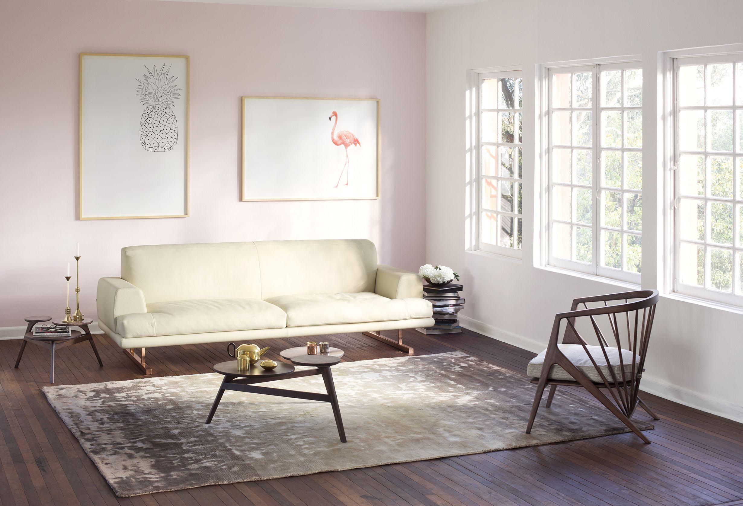 CONTEMPORARY LIVING ROOM Ohio Sofa Victoria Living Chair Victoria ...