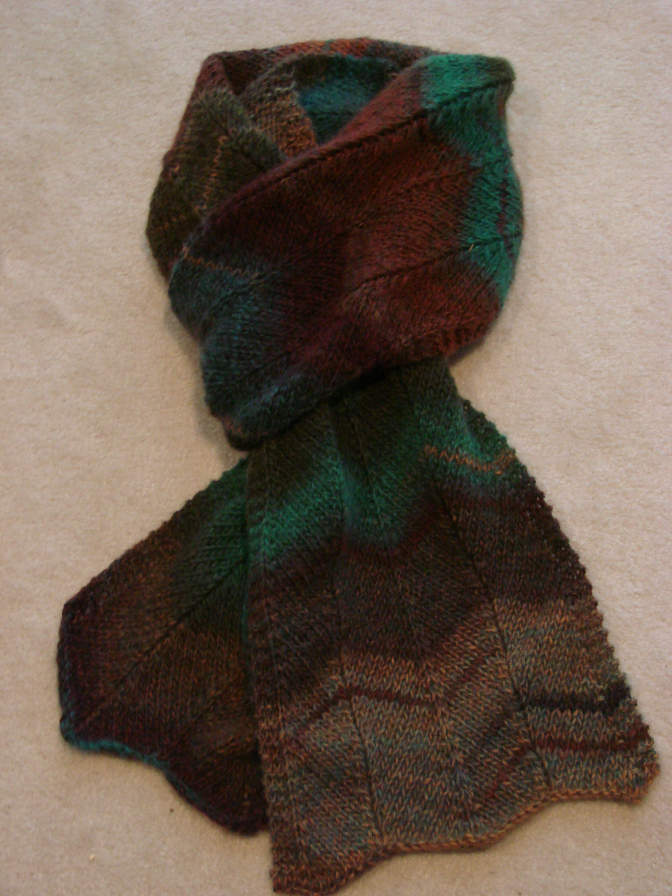 Chevron Scarf from Lion Brand pattern  Crochet  Pinterest Lion Brand Silky Twist Crochet Scarf Pattern