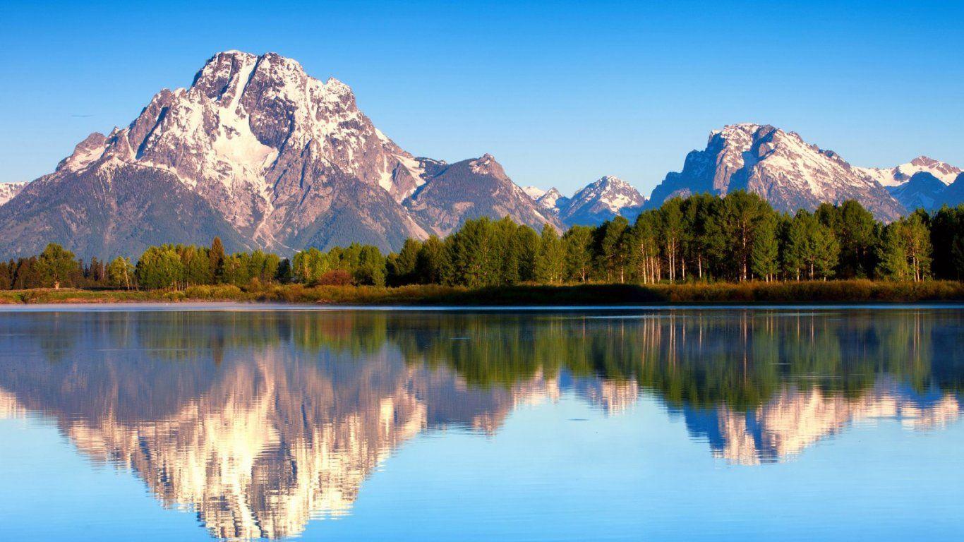 Beautiful Lovely Scenery Grand Teton National Park Teton National Park Scenery