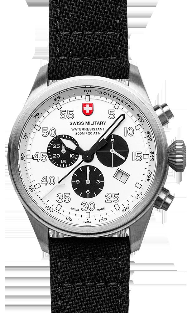 M's Swiss Military chronograph HAWK, Swiss Made quartz ...
