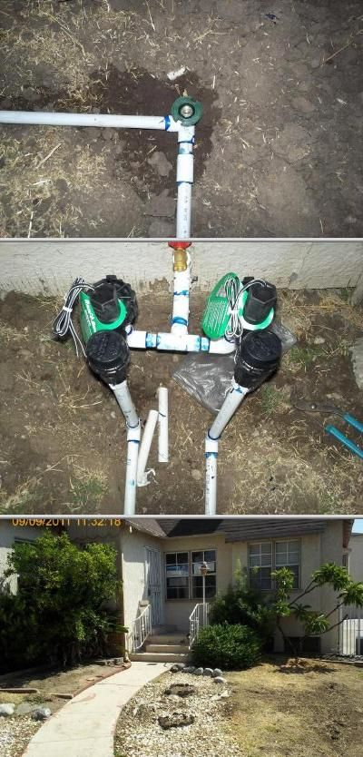 Let Steven Espinoza Take Care Of Your Sod And Lawn Sprinkler Systems He Lawn Sprinkler System Lawn Care Best Sprinkler