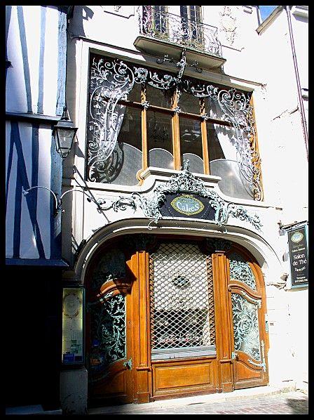 restaurant salon de thé Dame-Cake---Rouen installé dans le très beau ...