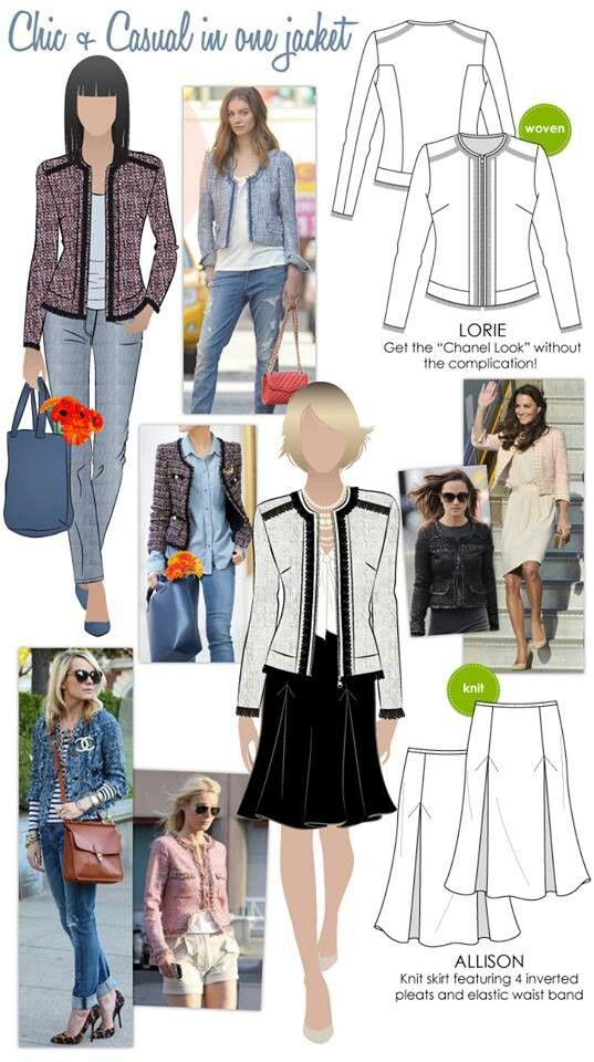 Style arc pattern (Australia) | chaquetas ,zaquillos y blazer ...