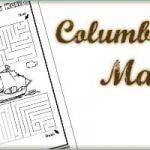 Columbus Day Printable Mazes and other Columbus printable s