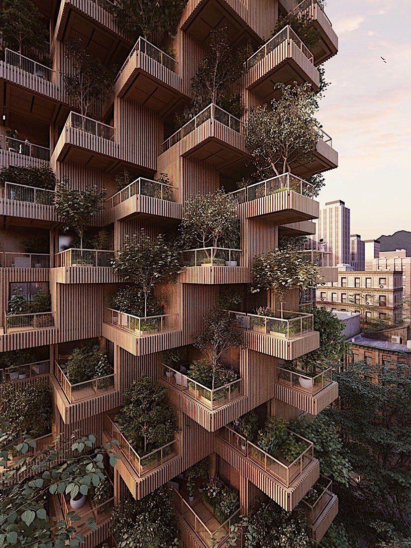 Penda konzipiert ein Hochhaus aus Holz