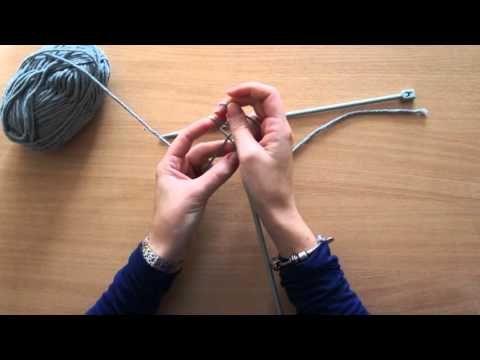 tricoter quand on est gaucher