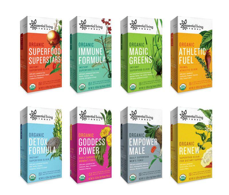 Organic Superfood Branding Design packaging, Packaging design - segmüller küchen weiterstadt