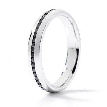 0291c18fea084c Alliance Homme diamants noirs et or blanc - Bachet   Black   White ...