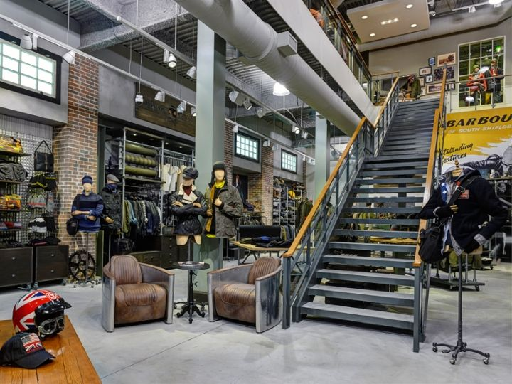 Barbour Store By RGLA Solutions Chicago Illinois Retail Design Blog