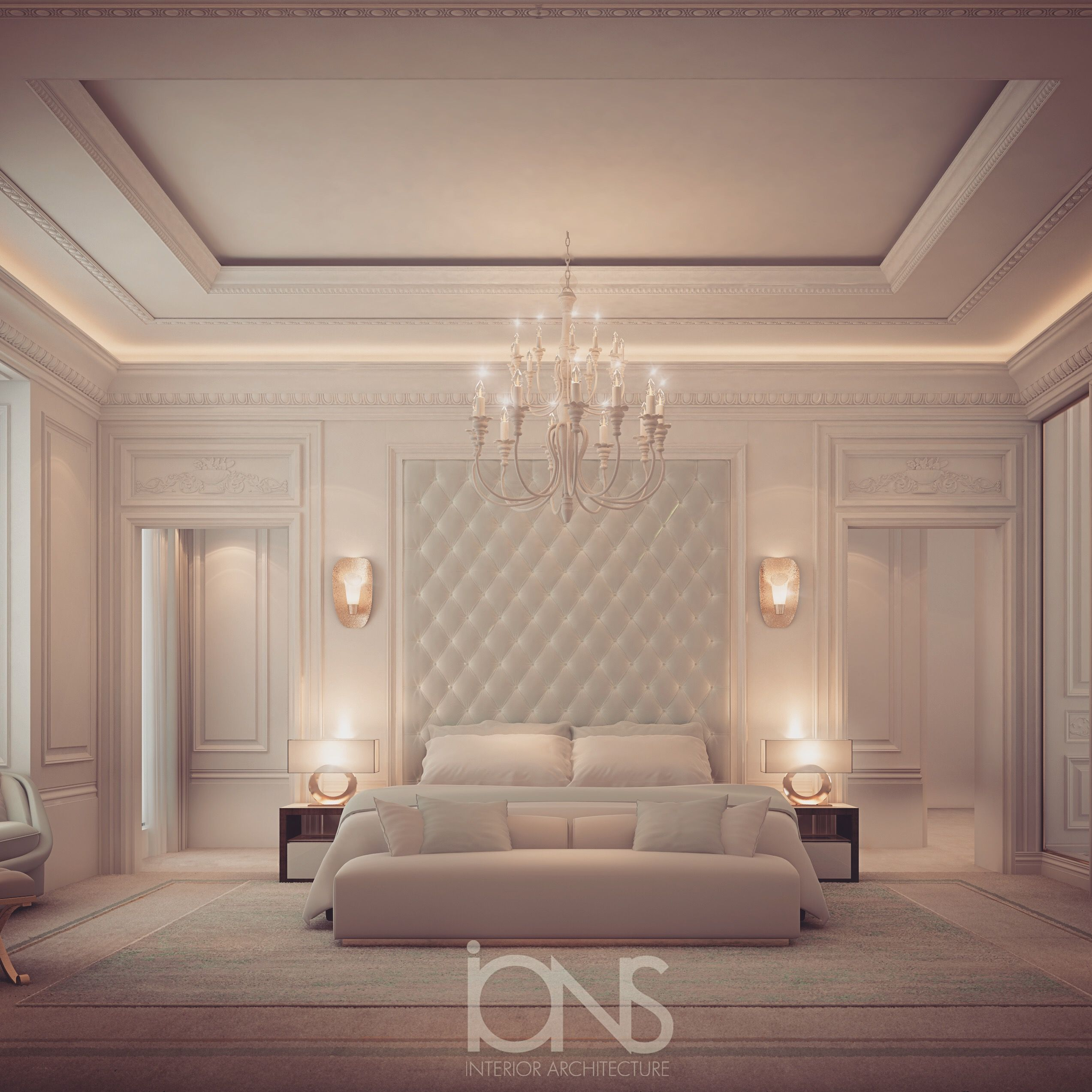 Modern Beautiful Bedrooms Interior Decoration Designs: Bedroom Interior By IONS DESIGN