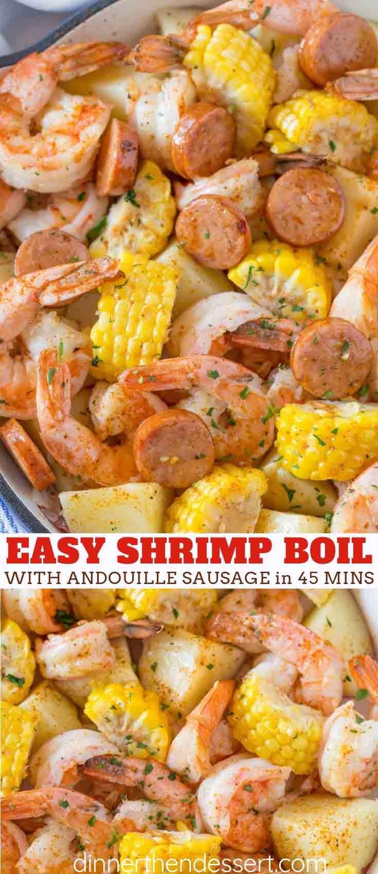 Easy Shrimp Boil #easyshrimprecipes