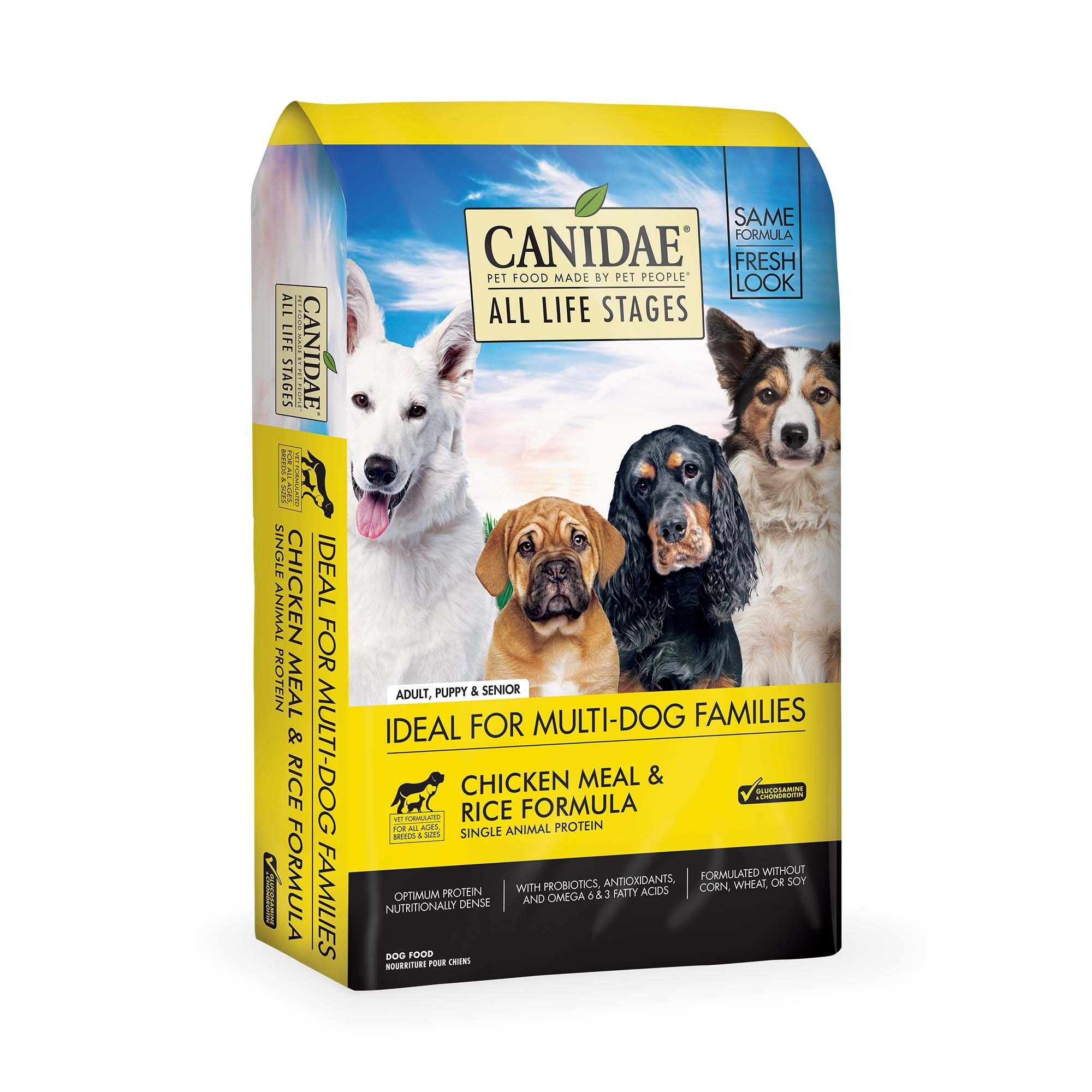 Canidae All Life Stages Chicken Meal Rice Formula Dog Food 5 Lbs