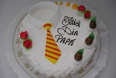 Tarta Dia Del Padre Bonito Hermosos Pasteles Pastel