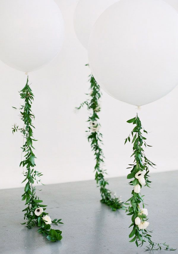 Large white balloon with garland string wedding decor brides of large white balloon with garland string wedding decor brides of adelaide junglespirit Image collections