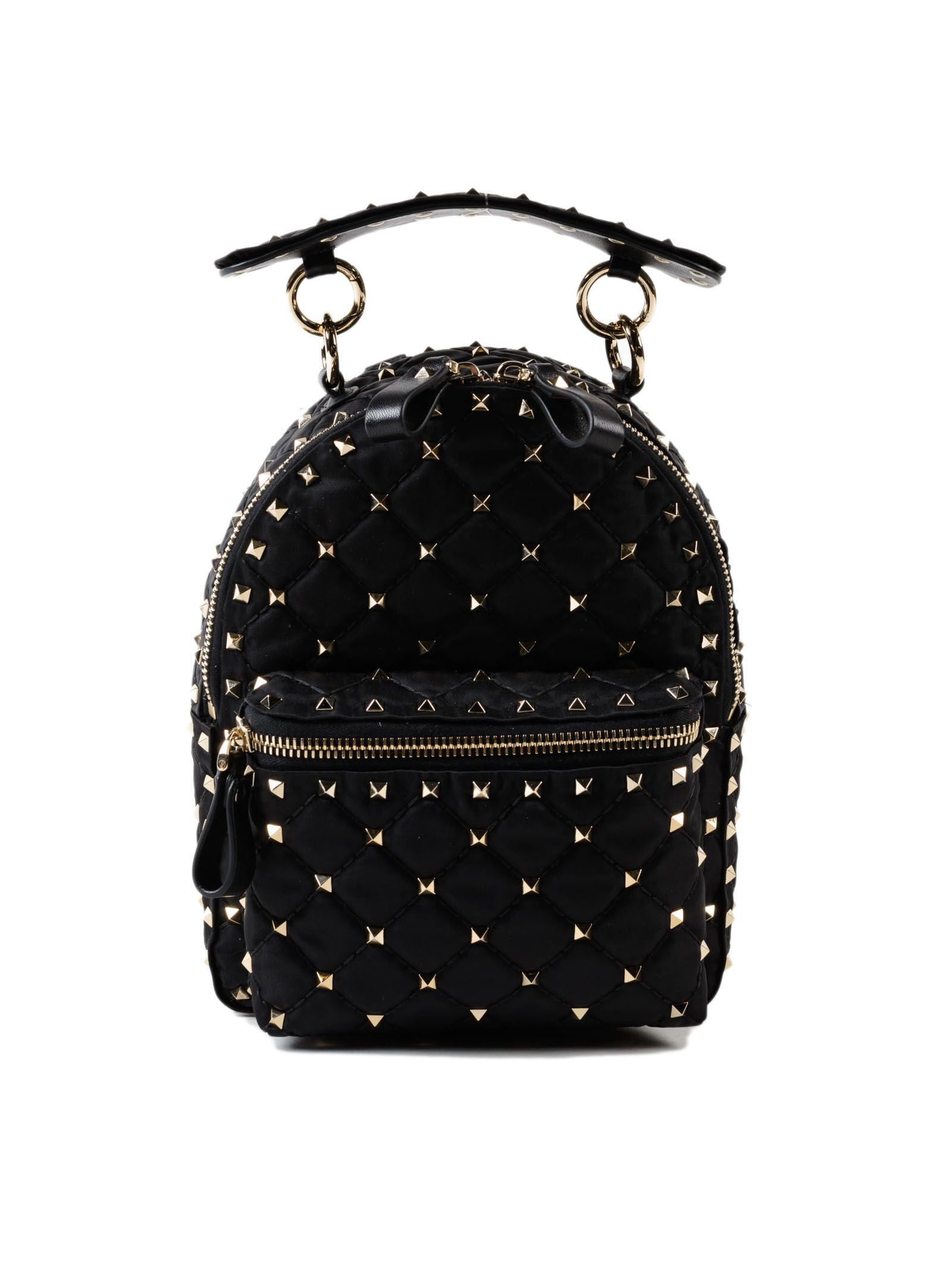 VALENTINO BACKPACK ROCKSTUD SPIKE.  valentino  bags  nylon  backpacks   Valentino  Garavani 6b3c2d0e43