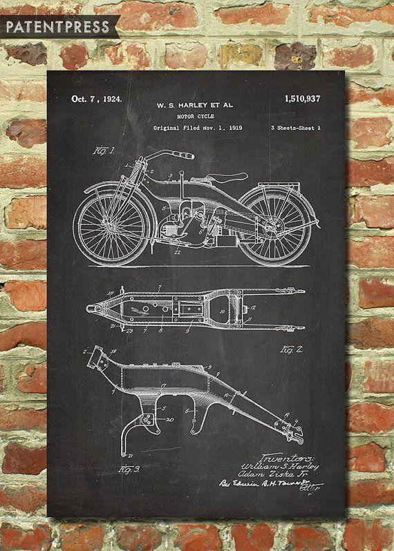 ab23a5080f Harley Davidson Gift for Men Motorcycle Gift for Dad Biker Gift for ...