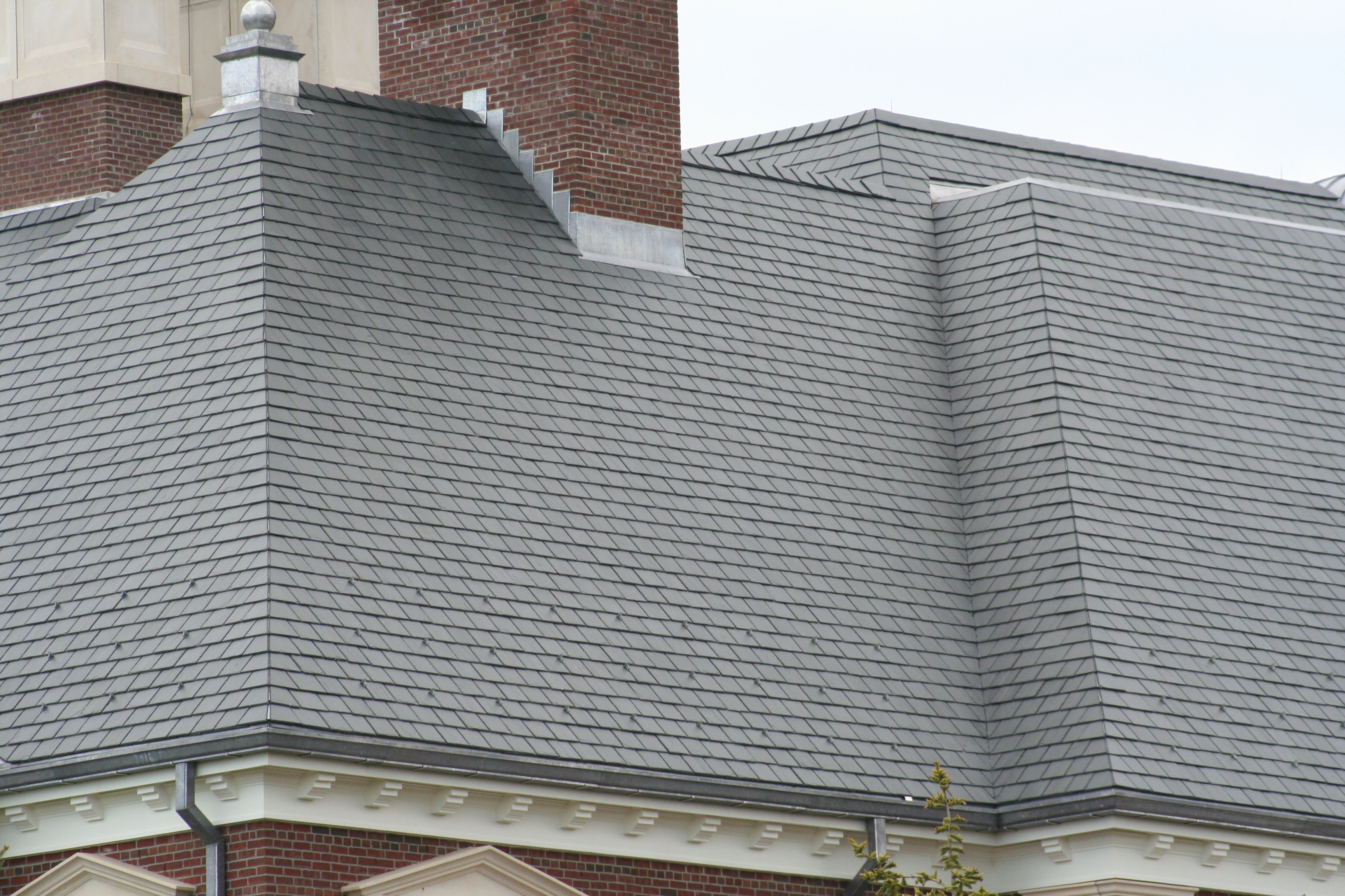 Mitered Hip Example Slate Roofing Details Slate Roof