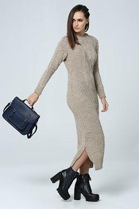 Tozlu Com Yeni Sezon Urunler Toptan Fiyatina Moda Triko Elbise