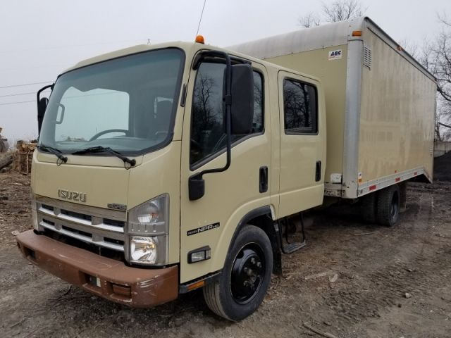 2008 Isuzu Npr Hd Crew Cab Box Truck 65k Actual Miles Trucks For Sale Trucks Recreational Vehicles