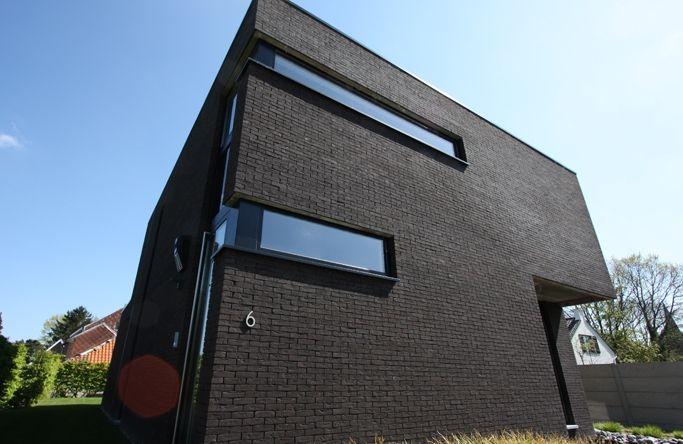 brique de parement noir antracite noir mangan se zero. Black Bedroom Furniture Sets. Home Design Ideas