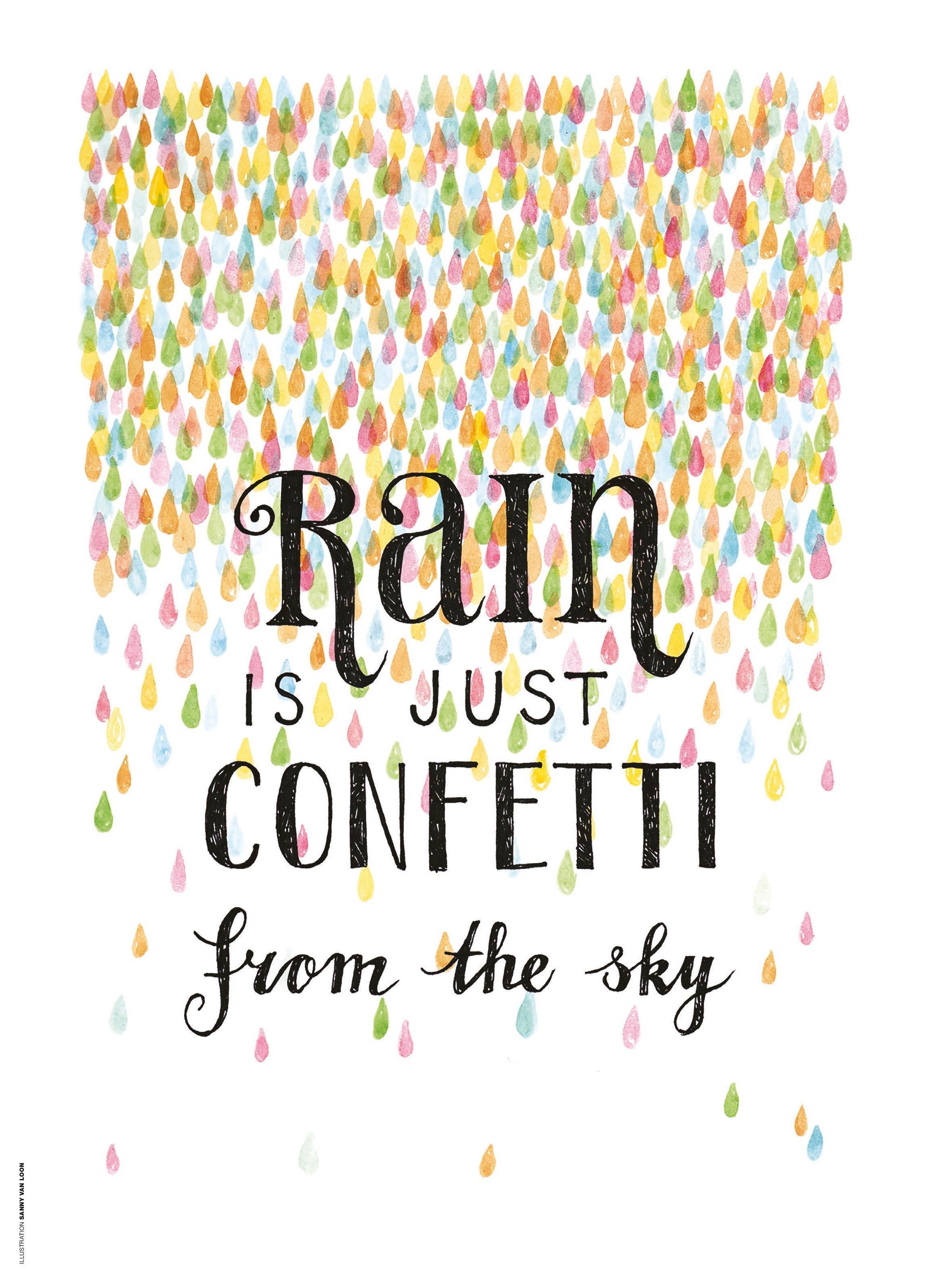 Flow Poster En Kaartenboek Shop Flow Magazine Nl Rain Quotes Rainy Day Quotes Quotes