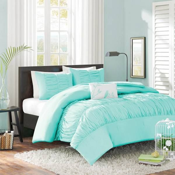 Tiffany blue bedding sets | new room | Pinterest | Tiffany blue ...