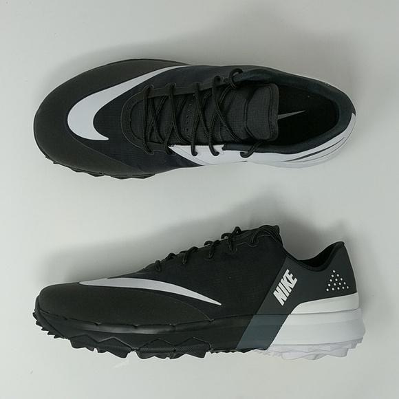 e76992eb365d Nike FI Flex Golf Shoes 849960-001 Mens Black White Anthracite Water R –  LoneSole