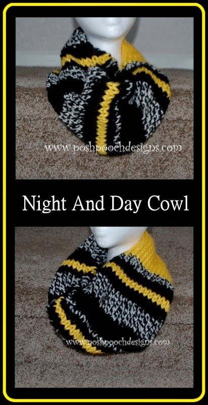 This knit cowl Posh Pooch Designs made with Wool-Ease looks like a ...