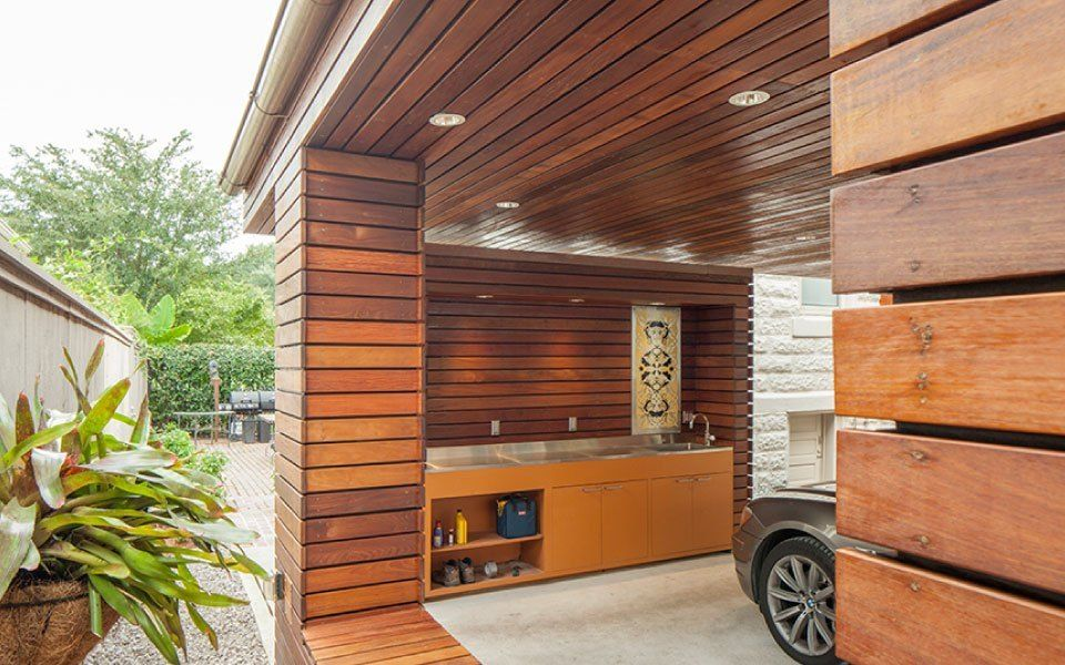 Carport for a Private Residence — studioWTA Carport with