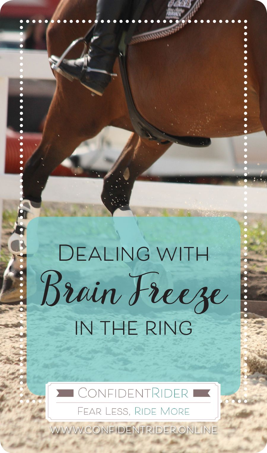 Dealing with brain freeze in the ring with images