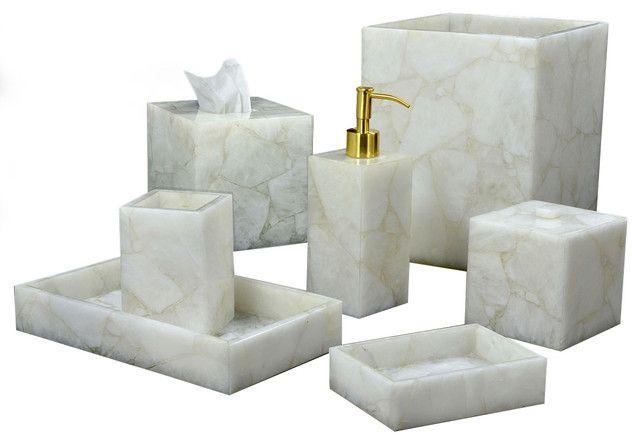 Clear Bathroom Accessories Bathroom Vanity Tray Accessories ...