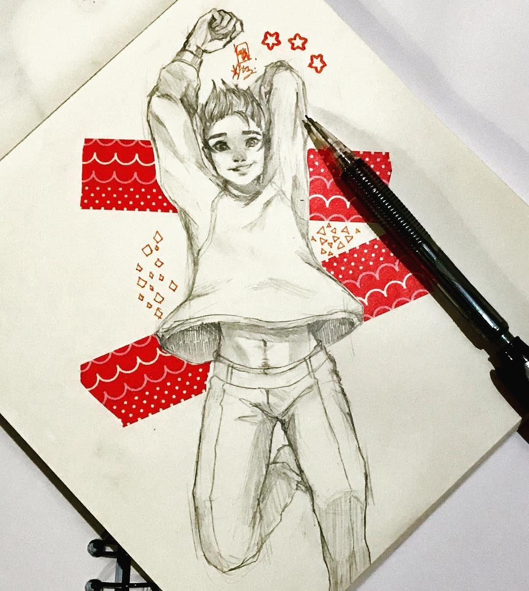 Mashael Drawing Anime Bodies Cute Boy Drawing Jumping Poses
