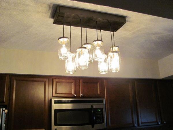 Marvelous Outstanding Diy Mason Jar Chandelier Track Lighting Pendant Lighting  Fixtures Light Frugal Mason Jar Pendant Light