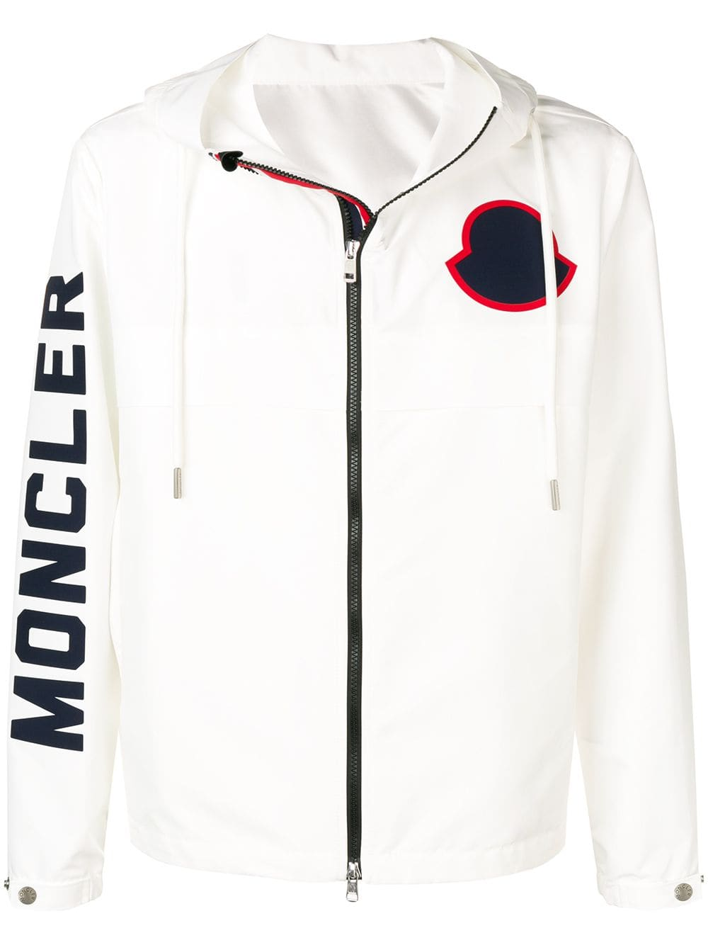 5c97c67f7 Moncler Logo printed hoodie - White in 2019 | Products | Moncler ...